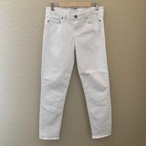 Paige White Skyline Ankle Peg Jeans